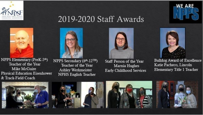 The NPPS Foundation Announces Staff Awards from the 2019-2020 School Year
